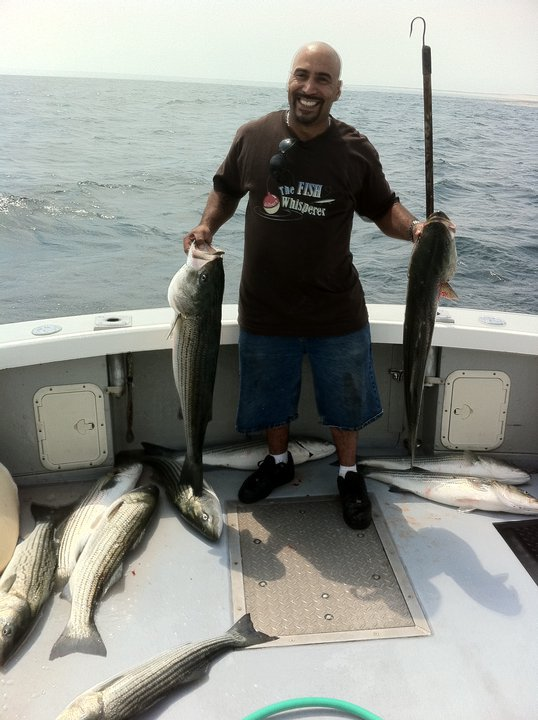 Striped bass fishing charters in massachusetts charter for Fishing for stripers