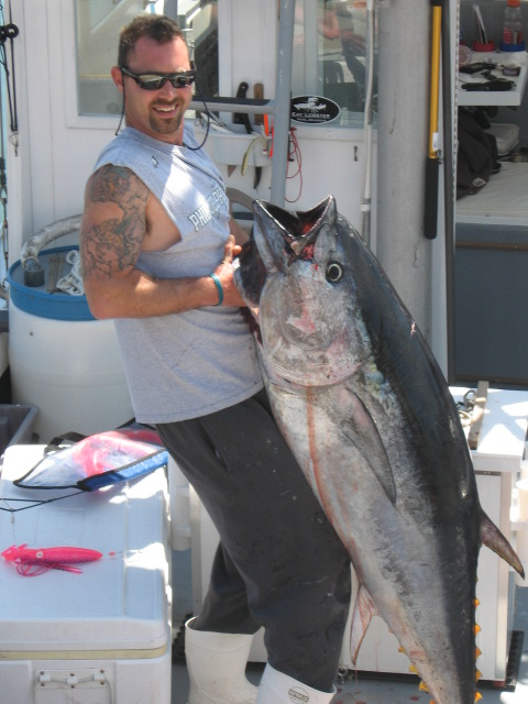Tuna fishing in Massachusetts