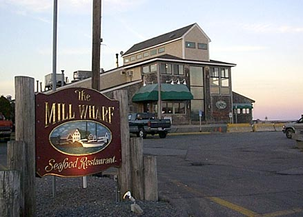 The Mill Wharf Scituate harbor